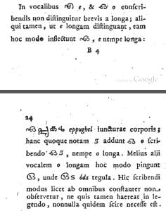 latin to malayalam or english