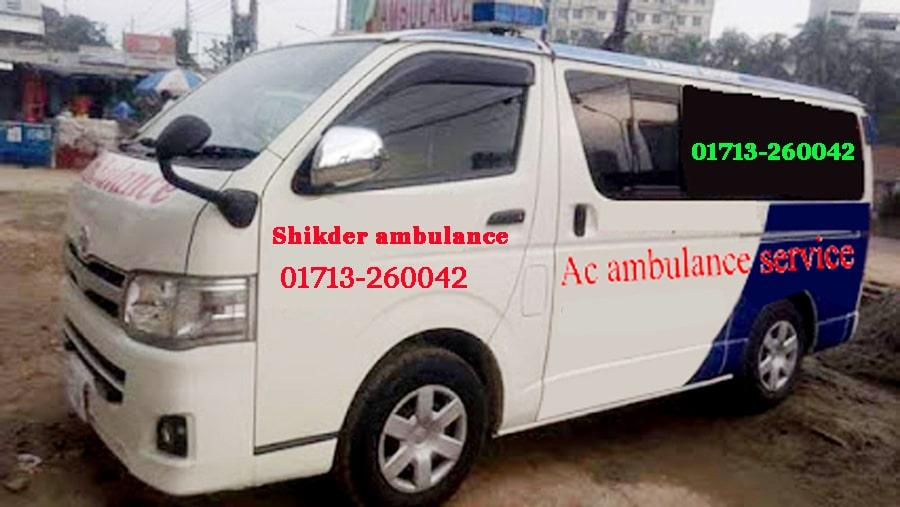 Shikder-ambulance-service-in-dhaka-Non-ac-ambulance