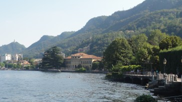 The beauty of Lake Como, not too far from Milan.