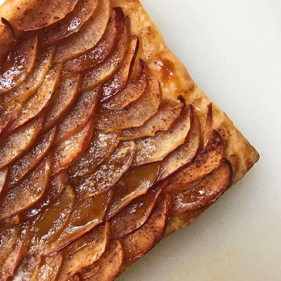 Recipe: Caramel Apple Tart Shikha la mode