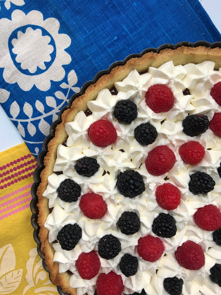 Recipe: Caramel Cream Tart with Berries