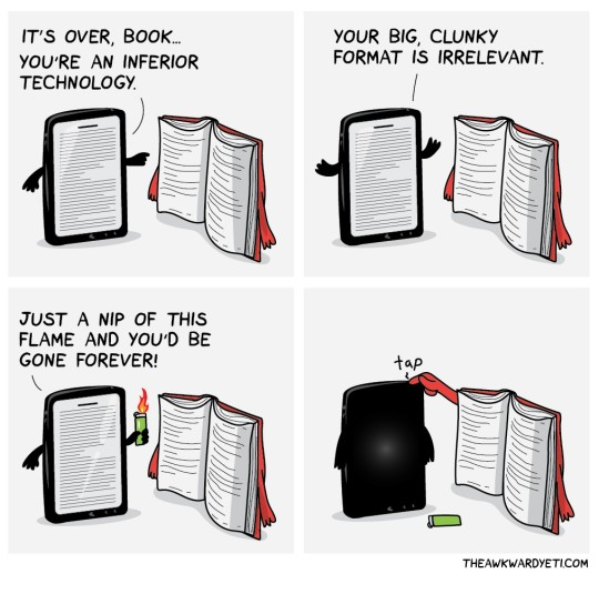 Ebooks vs traditional books