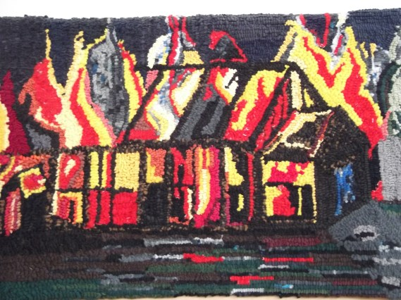 The Old Hall Fire