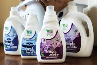 Simpur Organic Laundry Detergents - Non-GMO / Non-Toxic / No Artificial Preservatives