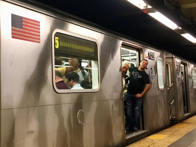 5 train, NYC subway, navigating NYC