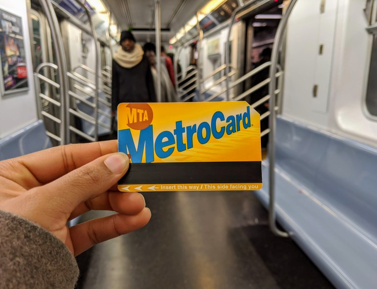 MetroCard in NYC Subway 2 Train NYC tourist traps
