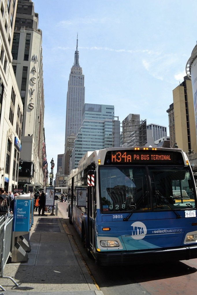 NYC buses, what to expect