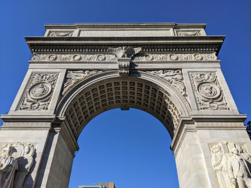 Washington Square Arch French in NYC