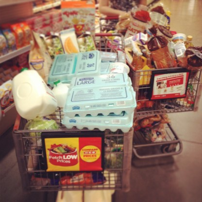 Grocery Shopping :)