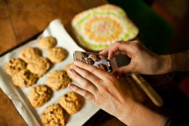 Chocolate Chip Peanut Butter Cookies 10:: Granola Girl Bakes