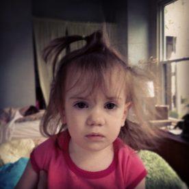 Little Miss Grumpy :)