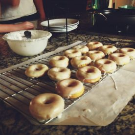 Micah's Lemon Poppyseed donuts