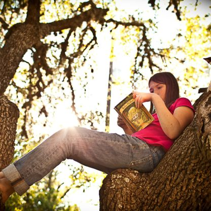 A perfect spot to read. :)