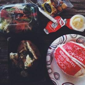 My dinner! :) :)