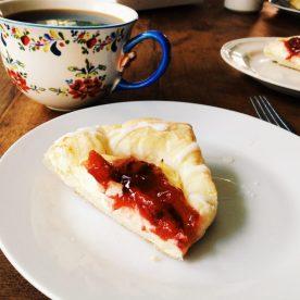 Cherry Danish from the German bakery
