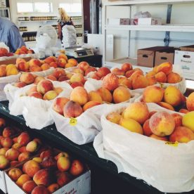 Peach season in Texas!