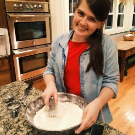 Y'all, she can bake! Delicious cinnamon rolls by Grace!! ♥
