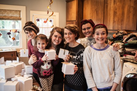 December || Christmas Cookie baking with these lovely ladies!