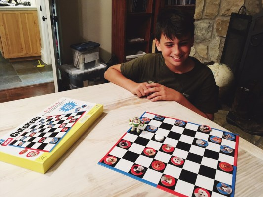 Checkers games with the master!