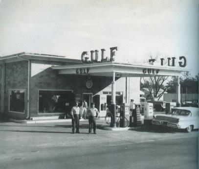 Herbert Green Gulf Station 1962 2