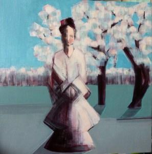 Cherry Blossom , work in progress