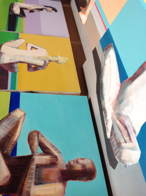 Artist Shilo Ratner_Oil Paintings_Work in Progress_2015
