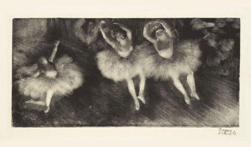 "Edgar Degas's ""Three Ballet Dancer (Trois danseuses),"" 1878-80, Image from blouinartinfo.com International."