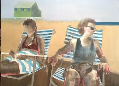 "Artist: Shilo Ratner, Cape Cod Days inprogress, 48"" x 36"", Oil on Canvas"