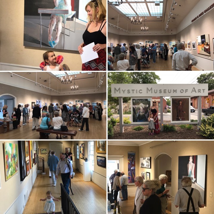 Mystic Museum of Art Reception