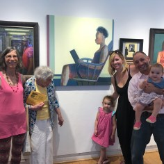 Shilo Ratner with four generations