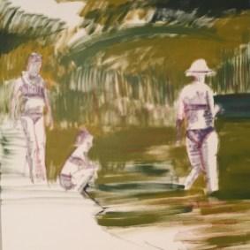 "Inprogress, ""Wading"", 2017"
