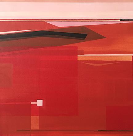 "No. 214, 20 x 20"", Acrylic"