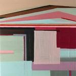 """House, 5 x 5"""", Acrylic on Panel"""