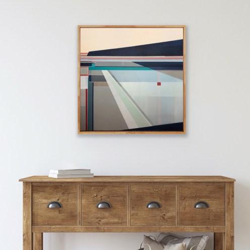 Artist Shilo Ratner_Heading Home_36 x 36in