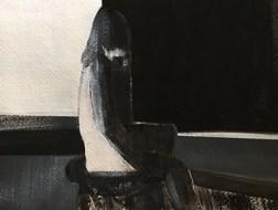 Black and White; Monochromatic, nude figure, Shilo Ratner