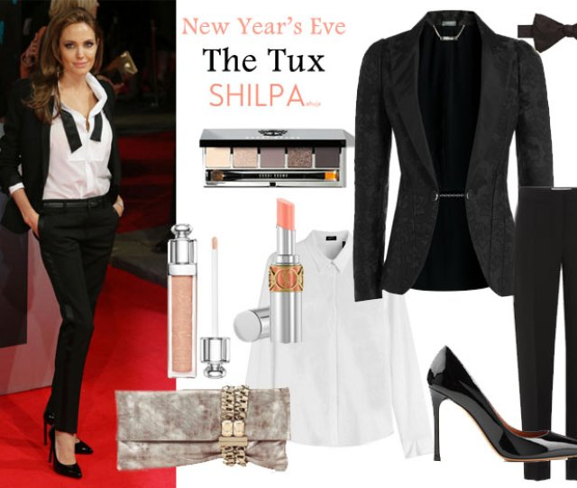 Womens Tuxedo Tux Outfit How To Wear Pair