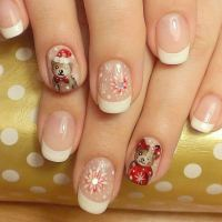 Snow Nail Art: The Prettiest Snow Nails & Winter Nail