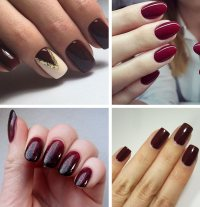 Best Burgundy Nails: 45 Nail Designs for Different Shapes ...