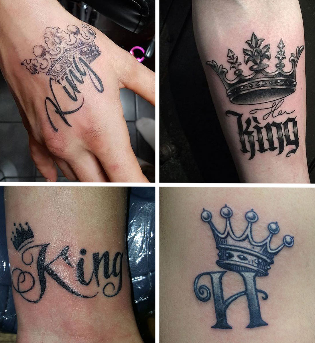 Unique Queen Tattoo Designs