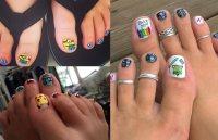 50 Toe Nail Designs | Pedicure Ideas for Every Season ...