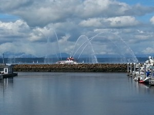 fireboat display