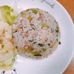 鶏チャとセロリの炒飯