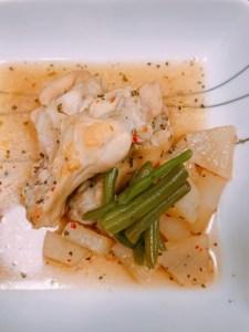 鶏手羽元と大根のイタリアン煮込み2