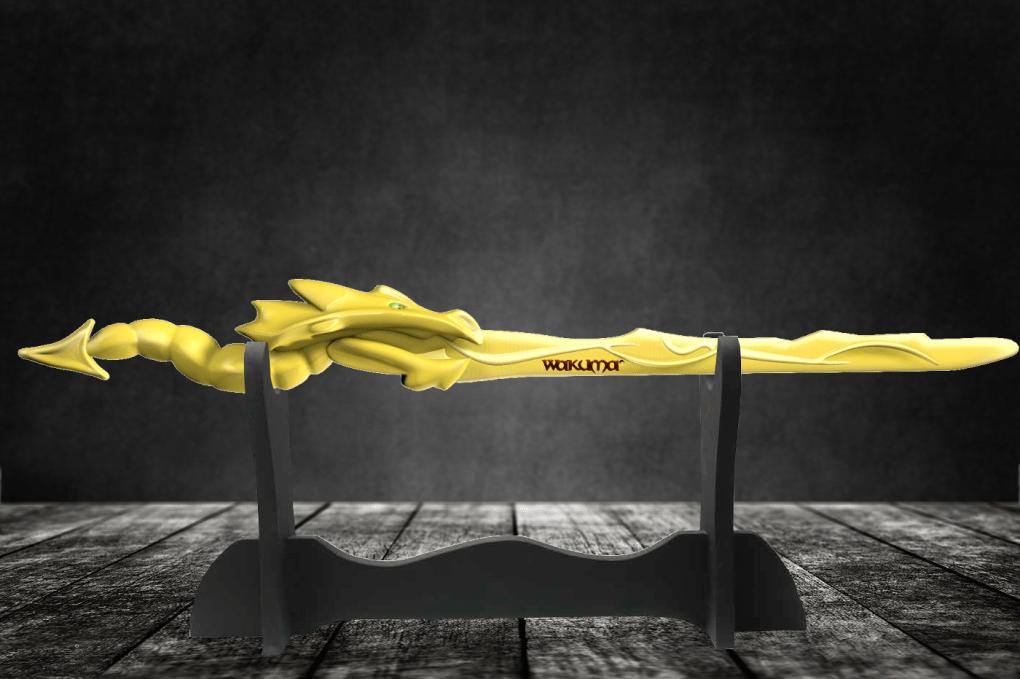 The Ultimate Gold Ninja Dragon Sword