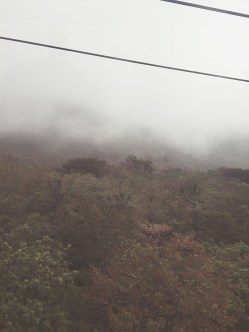 That's Hakone fog for you