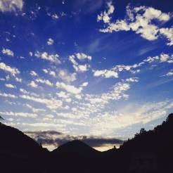 仁井田の夕焼け 2015.09.23
