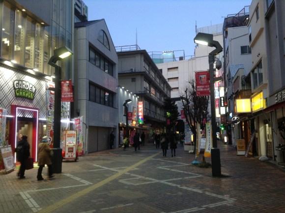 帰りの浦和の街並み