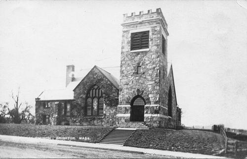 First Parish in Brighton circa 1895, Brighton Allston Historical Society
