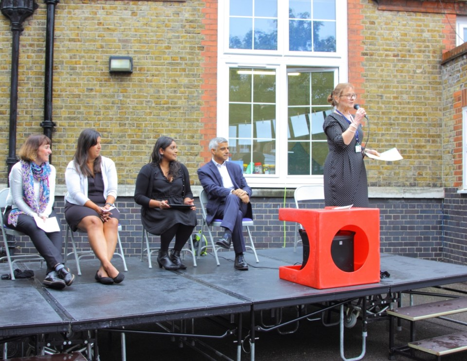 Fircroft primary school, Early Years Unit opening, Sadiq Khan