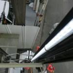 杉並区久我山の建設会社様の袖看板にLED設置